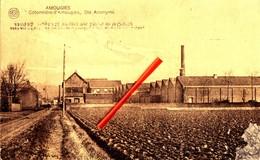 AMOUGIES - Cotonnière D'Amougies, Société Anonyme - Carte Circulée - Kluisbergen