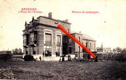 AMOUGIES - Mont De L'Enclus - Maison De Campagne - Carte Circulée Et Animée - Kluisbergen