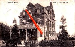 ORROIR  (Enclus) - Hôtel Du Grand Saint Martin - Carte Circulée Et Animée - Kluisbergen