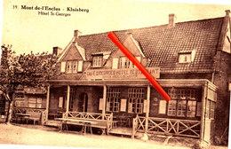 MONT De L'ENCLUS - KLUISBERG - Hôtel Saint Georges - Carte Circulée - Kluisbergen