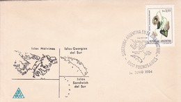 ISLAS MALVINAS, GEORGIAS DEL SUR Y SANDWICH DEL SUR. BS AS 1984. ILES MALOUINES MALVINAS- BLEUP - Falkland Islands