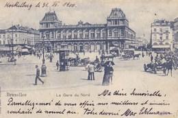 Brussel, Bruxelles, La Gare Du Nord (pk49055) - Spoorwegen, Stations