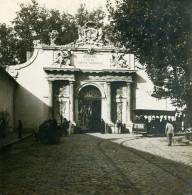 France Toulon Porte De L'Arsenal Ancienne Photo Stéréo SIP 1900 - Stereoscopic