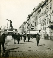 France Toulon Quai Crondstadt Ancienne Photo Stéréo SIP 1900 - Stereoscopic