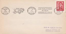 BANDELETA PARLANTE MALVINAS SON ARGENTINAS 1970. ILES MALOUINES MALVINAS- BLEUP - Falkland Islands