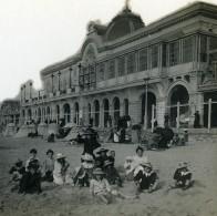 France Biarritz Nouveau Casino Ancienne Photo Stéréo CPS 1900 - Stereoscopic