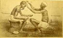 Asie Inde? Le Barbier Coiffeur Ancienne CDV Photo 1870 - Photographs