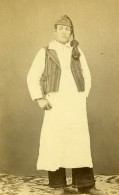 Italie ? Homme Mode Costume Traditionnel Ancienne CDV Photo 1860 - Photographs
