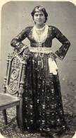 Algerie Alger? Femme Mode Costume Ancienne CDV Photo 1870 - Photographs