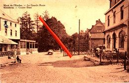 MONT De L'ENCLUS - KLUISBERG - La Grand Route - Groote Baan - Carte Circulée - Kluisbergen