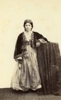 Algerie Alger? Jeune Femme Mode Costume Ancienne CDV Photo 1870 - Photographs