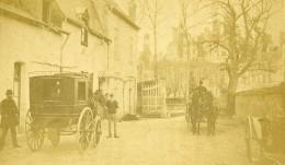 France Chambord Publicité Pour Le Grand Hotel Du Chateau Ancienne CDV Photo Mieusement 1865 - Photos