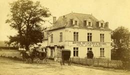 France Chambord Publicité Pour Le Grand Hotel Du Chateau Ancienne CDV Photo Mieusement 1865 - Photographs