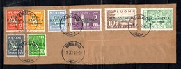 752 490 - CARELIA 1941 , Unificato Serie  N. 8/15 Soprastampa Verde - Finland