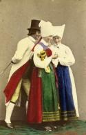 Suede Sodermanland Vingaker Costume Traditionnel Ancienne CDV Photo Eurenius 1868 - Photographs