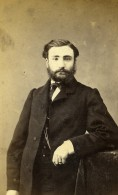 France Paris Homme Barbu Mode Costume Ancienne CDV Photo Nadar 1870 - Photographs