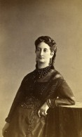 France Paris Femme Mode Costume Ancienne CDV Photo Nadar 1870 - Photographs