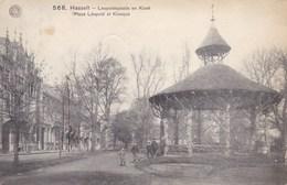Hasselt, Leopoldplaats En Kiosk (pk49059) - Hasselt