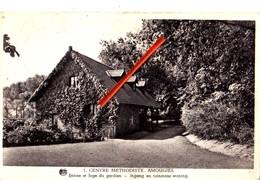 Centre Methodiste AMOUGIES - Entrée Et Loge Du Gardien - Ingang En Tuinmans Woning - Carte Circulée - Kluisbergen