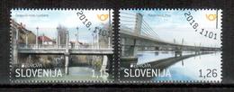 Slowenien / Slovenia / Slovenie 2018 Satz/set EUROPA Gestempelt/used - 2018