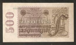 T. Germany Weimar Republic Reichsbanknote Funfhundert 500 Millionen Mark 1923 #321523 - [ 3] 1918-1933 : Weimar Republic