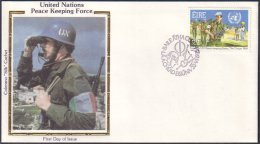 Ireland Eire United Nations Peace Keeping Force FDC Silk Cachet (A90-994) - Ireland