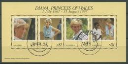 Namibia 1998 Prinzessin Diana Block 38 Gestempelt (C27647) - Namibia (1990- ...)