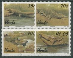 Venda 1992 Reptilien Krokodilzucht 246/49 Postfrisch - Venda