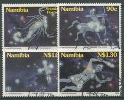 Namibia 1996 Sternbilder Skorpion Schütze Orion 819/22 Gestempelt - Namibia (1990- ...)