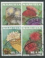 Namibia 2001 Meerestiere Seeanemonen 1033/36 Gestempelt - Namibia (1990- ...)