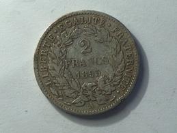 FRANCE 2 Francs 1895 A - Silver, Argent - France