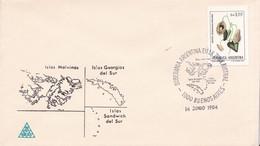 SOBERANIA ARGENTINA EN LA ZONA AUSTRAL. BS AS 1984. ISLAS MALVINAS. ILES MALOUINES MALVINAS- BLEUP - Falkland Islands