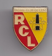 Pin's Football  RCL Racing Club De Lens Ecusson Blason Réf 2467 - Football