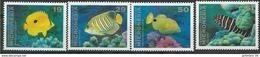 1993 MICRONESIE 213-16** Poissons - Micronésie