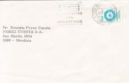 LAS MALVINAS SON ARGENTINAS BUENOS AIRES 1987. ILES MALOUINES MALVINAS- BLEUP - Falkland Islands