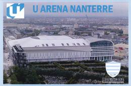 CARTE   DE STADE.   NANTERRE   *92FRANCE   IU  ARENA  NANTERRE        # CS. 215 - Soccer