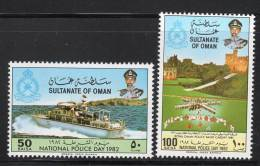 OMAN - 1982 - N°208/9 ** - Oman