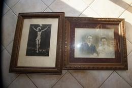 Tableau Jolie Cadre De L'epoque - Other Collections