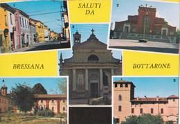 SALUTI DA BRESSANA BOTTARONE (PV) - VEDUTINE - F/G - V: 1969 - Autres Villes