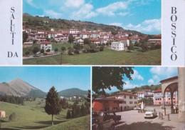 SALUTI DA BOSSICO (BG) - VEDUTINE - F/G - V: 1971 - Autres Villes