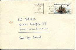 Australian Antarctic Territory Sent To Switzerland Blackburn 11-10-1979 Single Franked - Australian Antarctic Territory (AAT)
