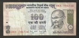 T. India One Hundred 100 Rupees # OKN 786734 Mahatma Gandhi - India