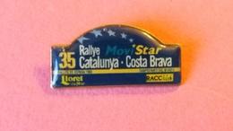 PIN'S   Plaque  Rallye   CATALUNYA   1999 - Rallye