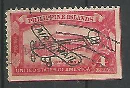 Timbre Pour La Poste Aerienne 4c Rouge - Philippines