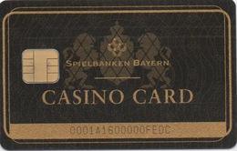 Carte De Membre Casino Spielbanken Bayern (9 Casinos) - Cartes De Casino