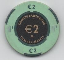 Jeton De Casino Le Pharaon à Lyon €2 - Casino