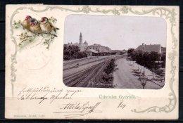 Hongrie, Gyor Palya Udver Belseje - Hongrie