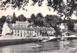 29 - PONT AVEN : Le Port ( Bar Buvette De L'Aven ) - CPSM Dentelée Noir Blanc Grand Format - Finistère - Pont Aven