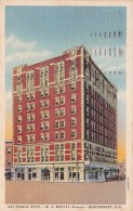 Alabama Montgomery Gay-Teague Hotel 1940 Curteich - Montgomery