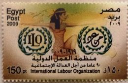 Egypt Stamp 2009 The 90th Anniversary Of The ILO - International Labour Organisation [MNH] (Egypte) (Egitto) (Ägypten) - Unused Stamps